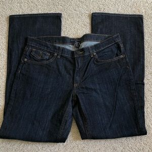 Banana Republic petite dark wash jeans